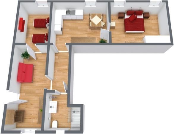 Planimetría Apartamento N.242