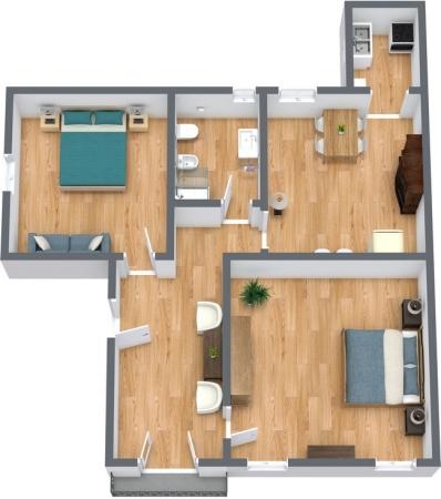 Planimetría Apartamento N.243