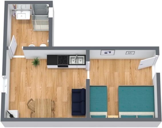 Planimetría Apartamento N.246
