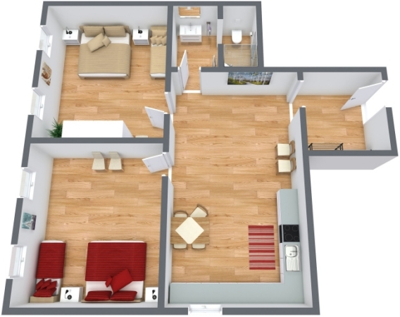 Planimetría Apartamento N.248