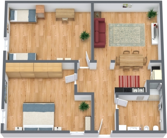 Planimetría Apartamento N.249