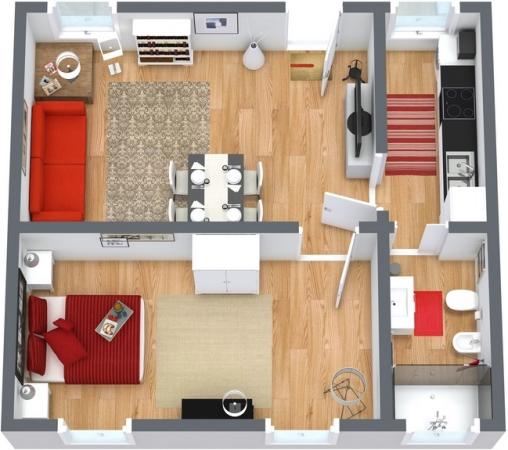 Planimetría Apartamento N.251