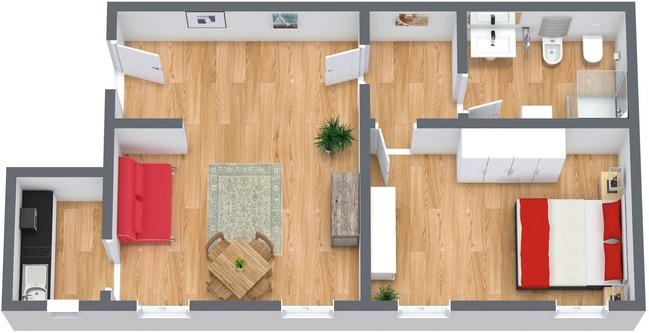 Planimetría Apartamento N.26