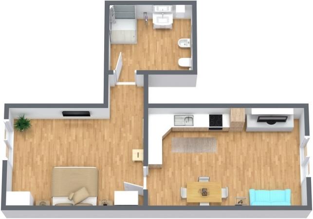 Planimetría Apartamento N.265