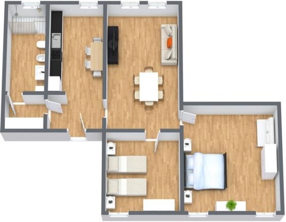 Planimetría Apartamento N.266
