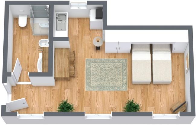 Planimetría Apartamento N.268