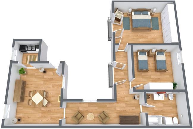 Planimetría Apartamento N.269