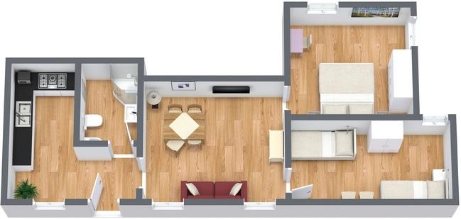 Planimetría Apartamento N.27