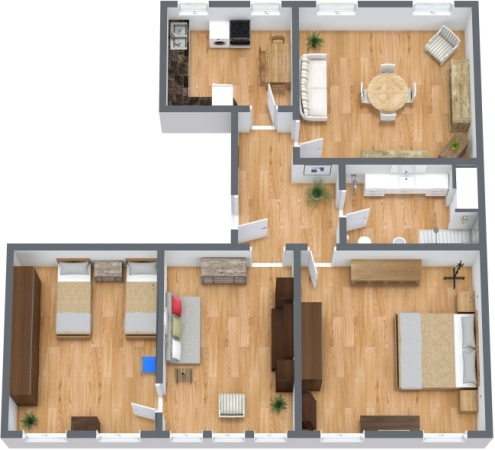 Planimetría Apartamento N.270
