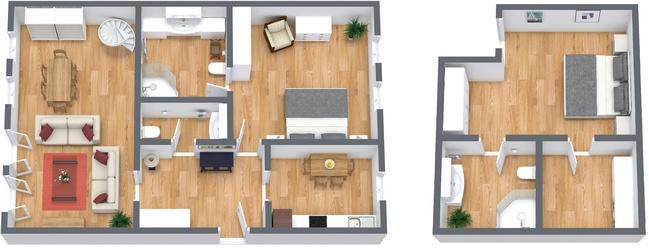 Planimetría Apartamento N.271