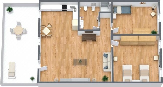 Planimetría Apartamento N.295