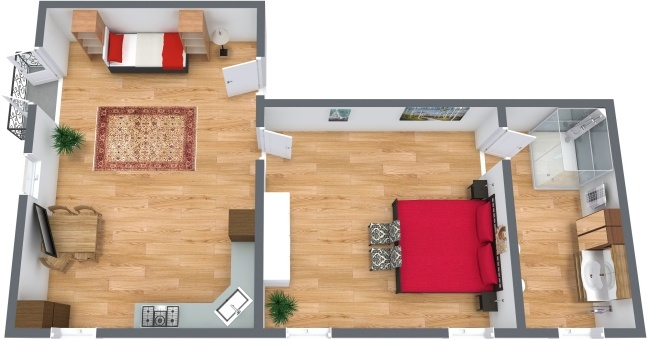Planimetría Apartamento N.277