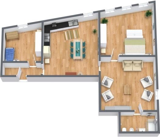 Planimetría Apartamento N.278