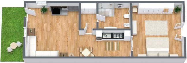 Planimetría Apartamento N.281