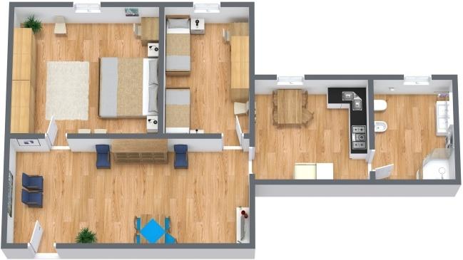 Planimetría Apartamento N.283