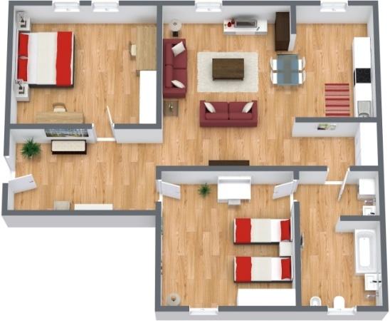 Planimetría Apartamento N.285