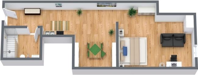 Planimetría Apartamento N.286
