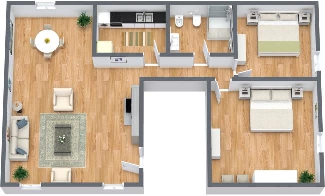 Planimetría Apartamento N.287