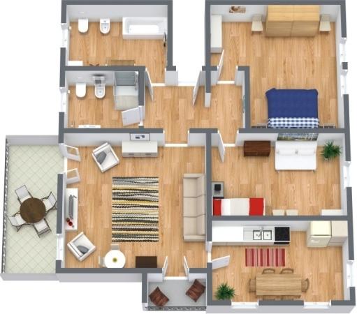 Planimetría Apartamento N.288