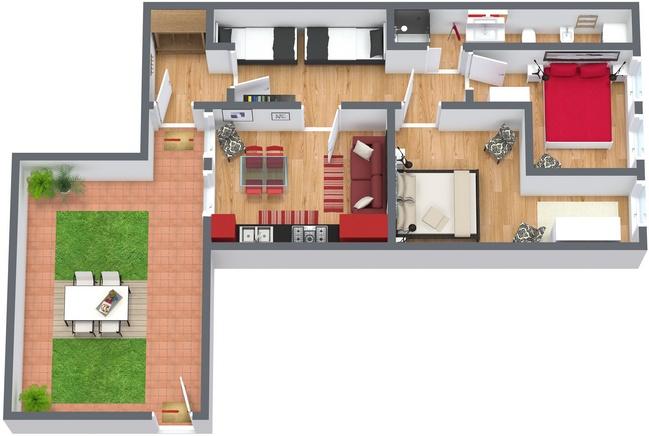 Planimetría Apartamento N.82