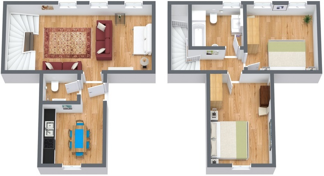 Planimetría Apartamento N.294