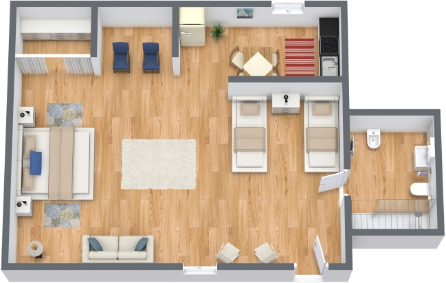 Planimetría Apartamento N.299