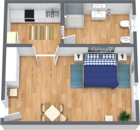 Planimetría Apartamento N.301