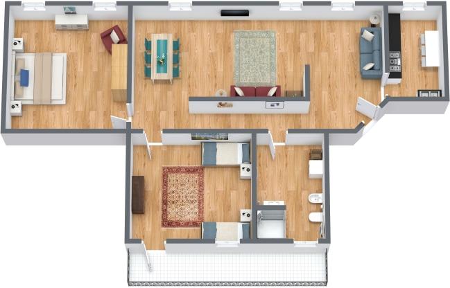 Planimetría Apartamento N.303