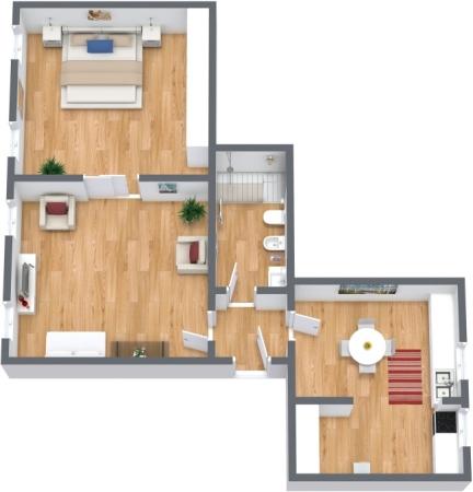 Planimetría Apartamento N.308