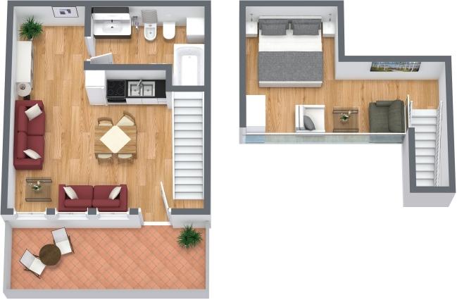 Planimetría Apartamento N.313