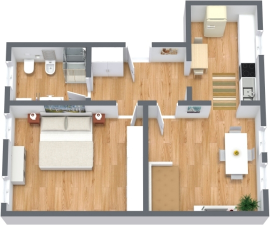Planimetría Apartamento N.314
