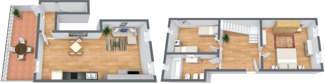 Planimetría Apartamento N.321