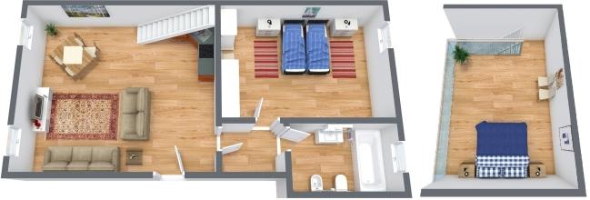 Planimetría Apartamento N.322