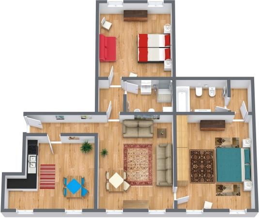 Planimetría Apartamento N.323