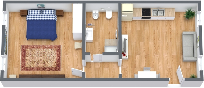 Planimetría Apartamento N.326