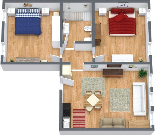 Planimetría Apartamento N.327