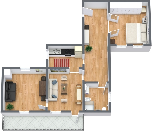 Planimetría Apartamento N.331