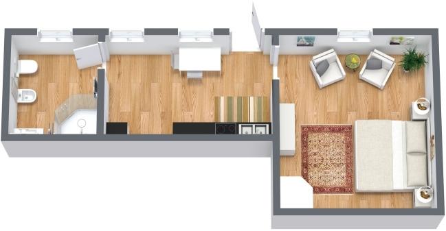 Planimetría Apartamento N.332