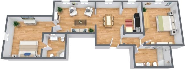 Planimetría Apartamento N.335