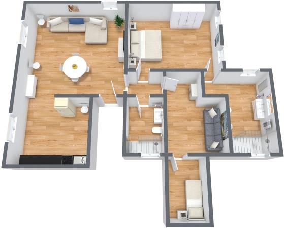 Planimetría Apartamento N.338
