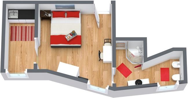 Planimetría Apartamento N.34