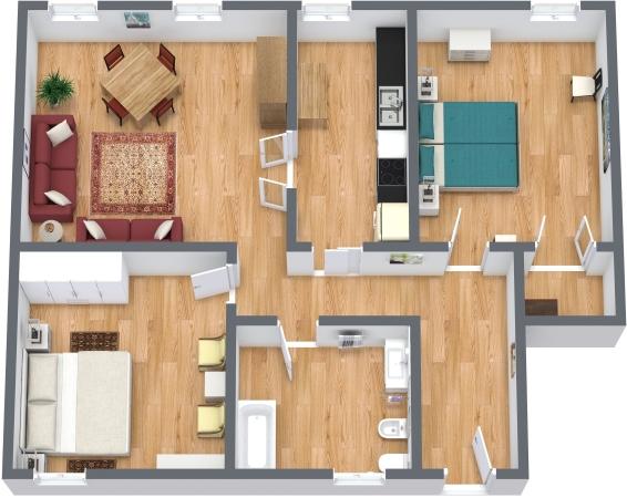 Planimetría Apartamento N.340