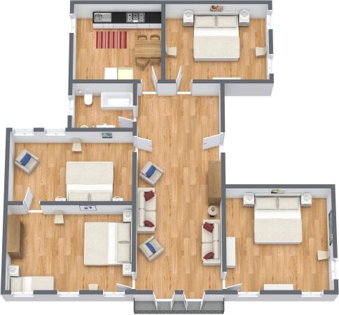Planimetría Apartamento N.344