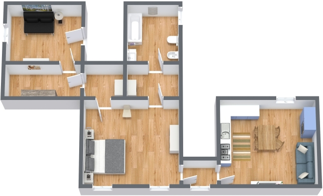Planimetría Apartamento N.347