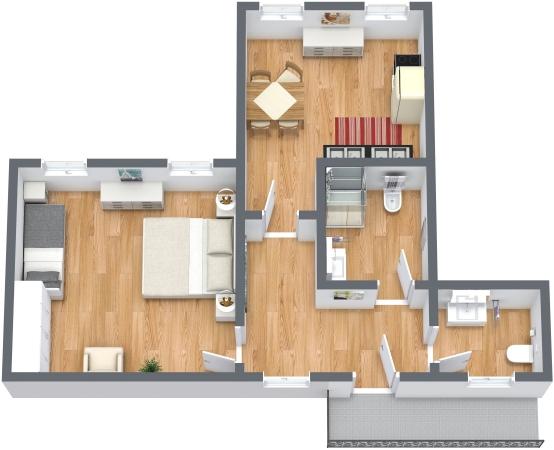 Planimetría Apartamento N.348
