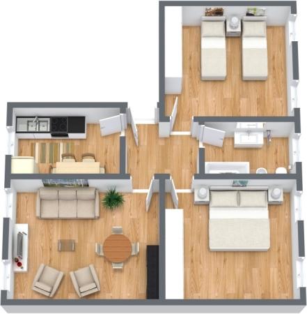 Planimetría Apartamento N.352