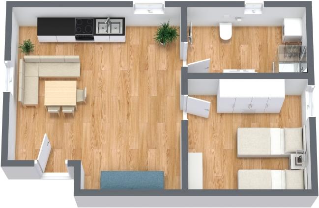 Planimetría Apartamento N.351