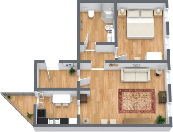 Planimetría Apartamento N.353