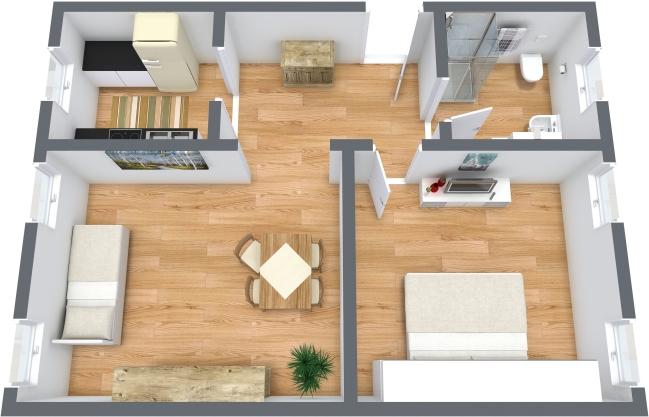 Planimetría Apartamento N.354