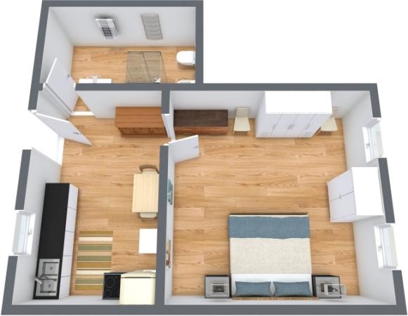 Planimetría Apartamento N.359